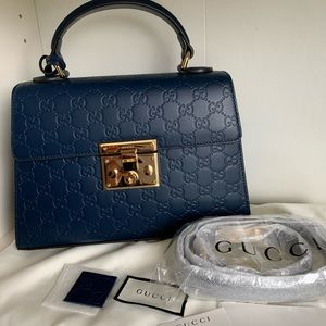 Brand new Gucci padlock small